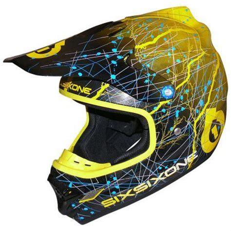 sixsixone motocross helmet sixsixone 661 helmet flight ii 2 static xs extra small yellow