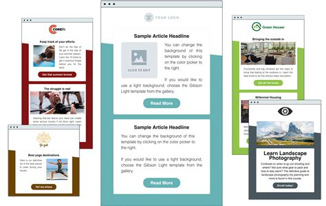 Html Email Template Html Email Templates Aweber Email Marketing