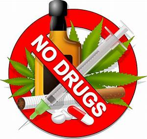 No Drugs Sign Healthy  U00b7 Free Vector Graphic On Pixabay