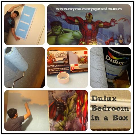Marvel Dulux Bedroom In A Box by My Mummy S Pennies Dulux Bedroom In A Box Marvel