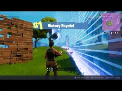 fortnite  hp win full game youtube