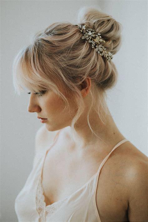 brautfrisuren  bridal hair buns bridal hair hair