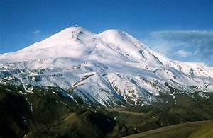 Where is the Elbrus the volcano Elbrus on the map More