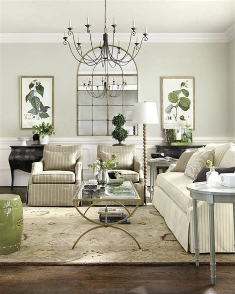 Neutral Green Living Room by 22 Pale Green Living Rooms Messagenote