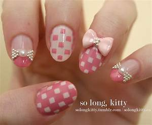 55 Bow Nail Art Ideas - nenuno creative