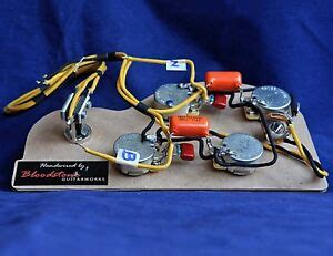 Wiring Harnes For Epiphone Dot 335 by Ready Built Gibson 335 Etc 4 Pot Wiring Upgrade Loom