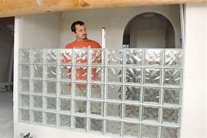 Bricolage Avec Robert : brique de verre ronde la rochere architecture du verre ~ Nature-et-papiers.com Idées de Décoration