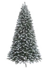 7 5 foot king flock artificial tree unlit king of