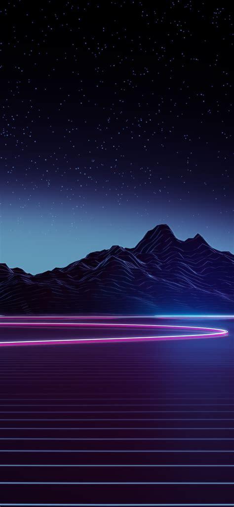 Aesthetic Ultra Hd Iphone Xs Max Wallpaper 4k by 1242x2688 Neon Highway 4k Iphone Xs Max Hd 4k Wallpapers