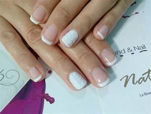 French Manucure Couleur : cosy nail comment marier ses ongles avec ses pulls d 39 hiver ~ Nature-et-papiers.com Idées de Décoration