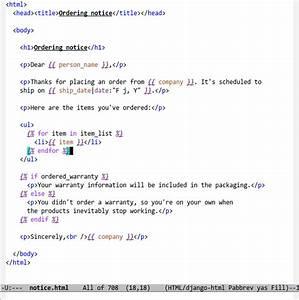 Emacs django for Django template if