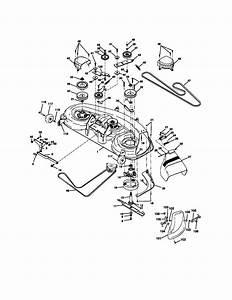 917 272190 Craftsman 25 Hp 46 Inch Mower 6 Speed Lawn Tractor
