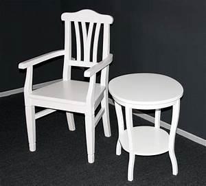 Beistelltisch Weiß Landhausstil : beistelltisch weis holz garten ~ Markanthonyermac.com Haus und Dekorationen