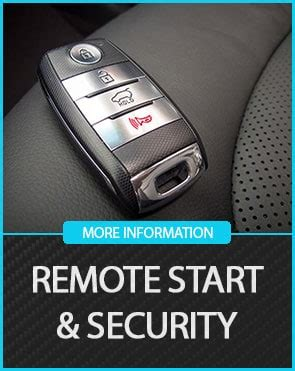 Remote Start Security Icon Austin Window Tinting
