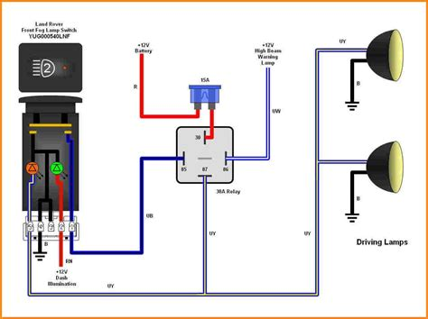 Pin Relay Wiring Diagram With Schematic Linkinx