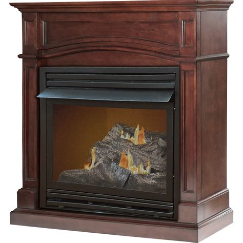 Pleasant Hearth Dual Fuel Vent Free Fireplace 32000 Btu