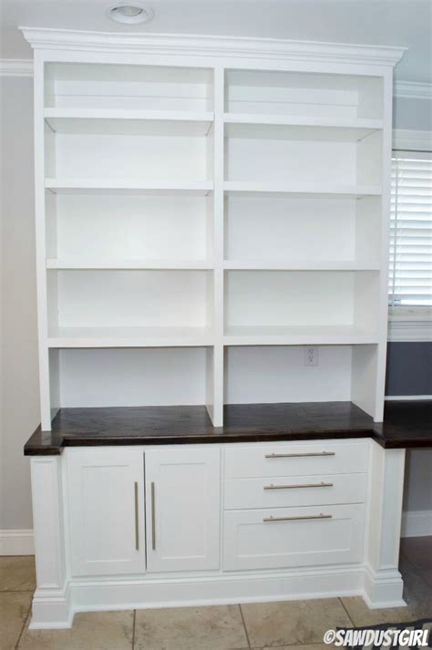base cabinets for built ins upper bookshelf cara collection sawdust