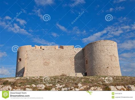 if castle circa 1531 marseilles stock images
