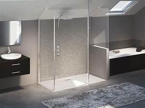 Baignoire Douche Italienne : douche l 39 italienne tous les styles sont permis elle d coration ~ Melissatoandfro.com Idées de Décoration