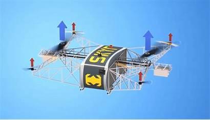Pilotless Airfreight Platform Skyf Landing