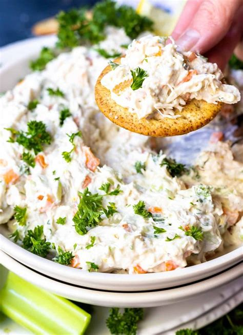 Lots of delicious and healthy shrimp recipes that can be served to all your family and friends anytime of the year. This Cold Crab Dip Recipe is great for a game day appetizer, holiday feasts or any type of party ...