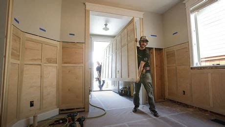Best Adhesive For Wainscoting by Project House A Simple Approach To Paneled Wainscot