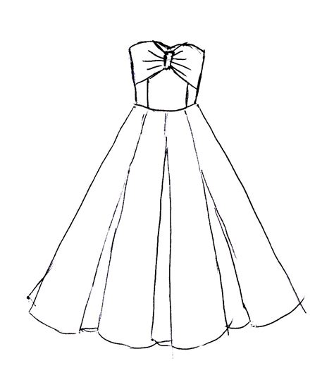 Excellent Easy Dresses To Draw 25 Good Drawing Ideas