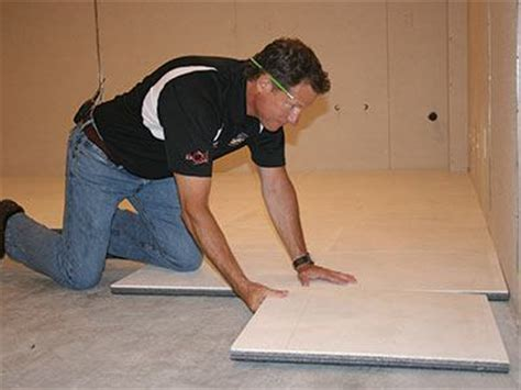 ThermalDry® Insulated Floor Decking   Basement Subfloor System