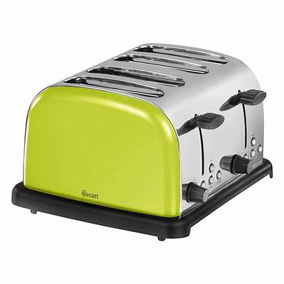 Slice Toaster Lime Swan Toasters