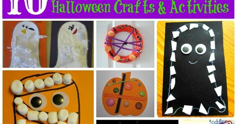 Toddler Approved Halloween Crafts