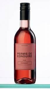 Customiser Une Bouteille De Vin : une bouteille de vin baptis e permis de conduire ~ Zukunftsfamilie.com Idées de Décoration