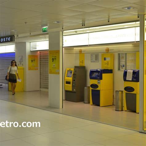 bureau de poste 16鑪e centre commercial les 4 temps à en métro