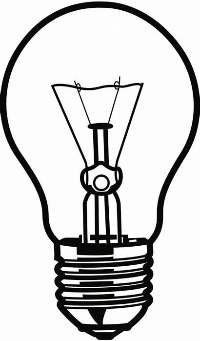 Bulb Clipart Clip Electric Lightbulb Vector Electricity