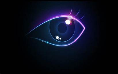 Theme Graphic Computer Neon Backgrounds Graphics Eye
