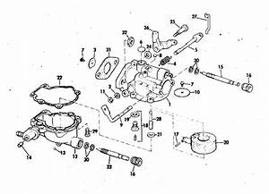 Johnson Carburetor Parts For 1972 2hp 2r72m Outboard Motor