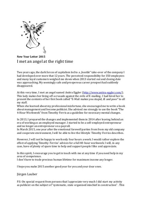 new year letter new year letter 2015 slideshare 28235