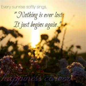 Sunrise quote v... Winter Sunsets Quotes