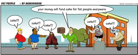 Funny Fat People Cartoons