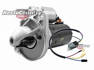 Ford Bosch Starter Motor   Relay 6 Cylinder Falcon Xd Xe