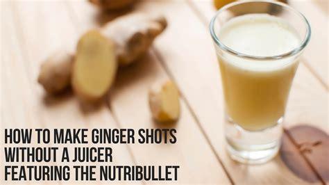 ginger shots juicer blender