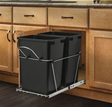 Trash Can Cupboard by 30 Unique Undersink Trash Can Ideas Pictures Remodel And