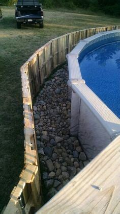 12×24 Above Ground Pool With Deck