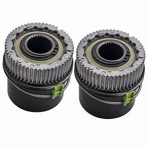 2 Set Locking Hubs Wheel Hub Fit Ford F