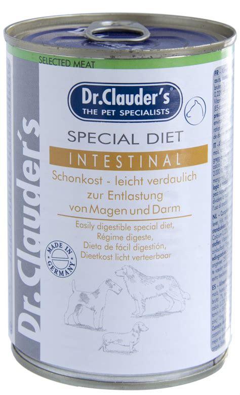 Dr.Clauder's konservs suņiem Special Diet Intestinal (kunģa un zarnu trakta diēta) 6x 400g ...