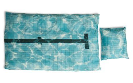 literally drift  sleep   swimming pool bedding set