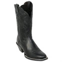 Black Western Cowboy Boots for Women