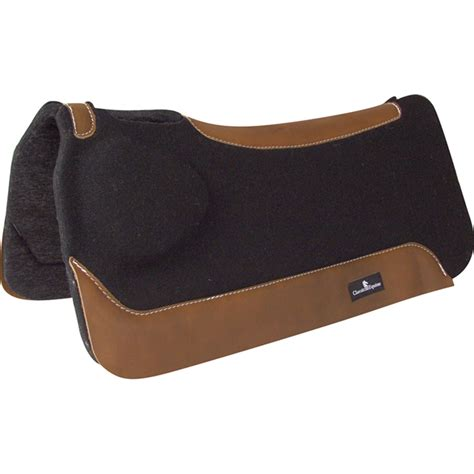 saddle western pad equine classic biofit correction pads horse horses wool saddles tack withers muscle shoulder breast saddlery riding ponies