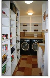 Walk in Pantry & Laundry Room - Craftsman - Laundry Room
