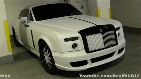 matte rolls royce mansory rolls royce phantom coupe 600 hp matte white