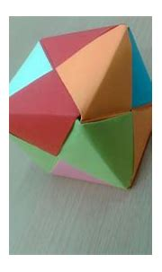 How To Make a origami 3d cube - paper cube easy - YouTube
